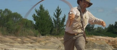 """Chris Strompolos as Indiana Jones in the fan film adaptation of """"Raiders of the Lost Ark."""""""