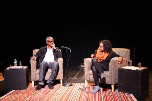 "Jones and DeGroat: ""What's RACE got to do with it?"" Photo: Peter Irby"