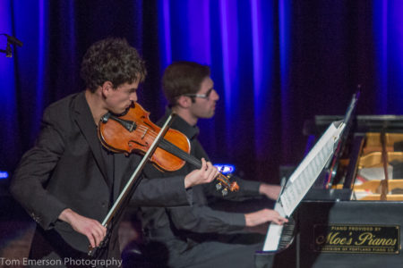 Hoffman and Yontov played Beethoven at Alberta Rose Theatre. Photo: Tom Emerson.