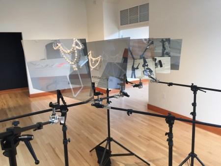 Anya Kivarkis and Mike Bray, installation, University of Oregon White Box, Portland2016/ Photo by Matt Stangel
