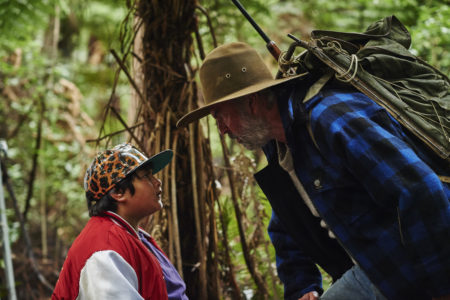 "Julian Dennison and Sam Neill in ""Hunt for the Wilderpeople"""