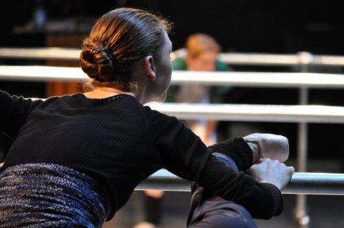 Gavin Larsen at the barre: everyday ballerina. Photo: Ashby Baldock