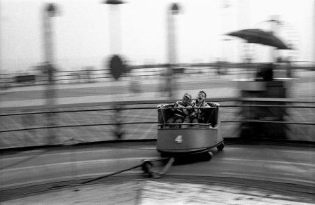 "Harold Feinstein, ""Kids Ride the Whip"", 1950/Courtesy Blue Sky GalleryT"