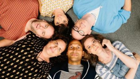 "The cast of ""Don't Think Twice"""