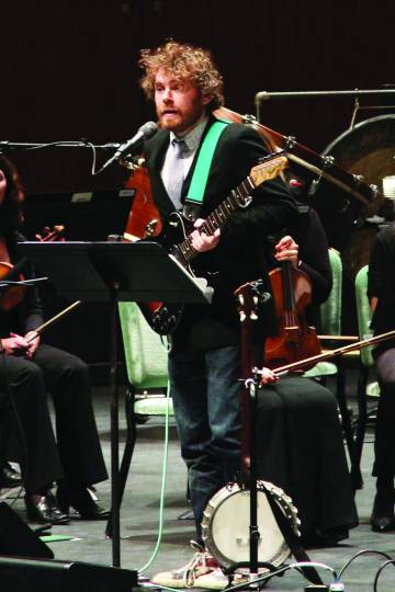 Gabriel Kahane performed twice at the Oregon Bach Festival. Photo: Monica Sellers.