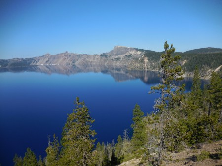 """Crater Lake, during the July 2016performance of Michael Gordon's """"Natural History."""" Photo: Christina Rusnak."""