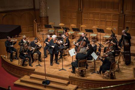 PBO played Mozart and Mendelssohn. Photo: Jonathan Ley.