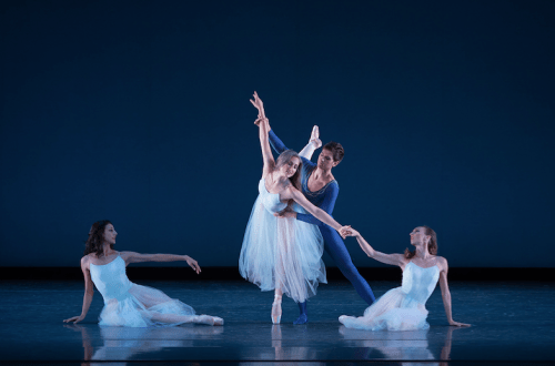 "Martina Chavez, Candace Bouchard, Thomas Baker, Jacquelin Straughan in ""Serenade."" Photo: Yi Yin"