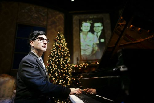Hershey Felder as Irving Berlin, Portland Center Stage. Photo: Eighty Eight Entertainment
