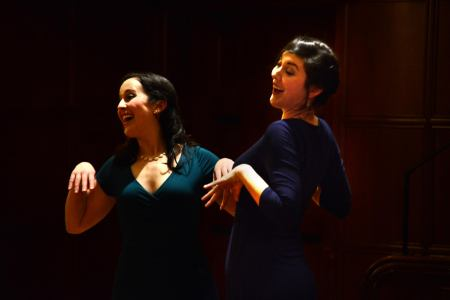 Northwest Art Song's ArwenMyer and LauraBeckelThoreson show that art song doesn't have to be serious at Portland's Waypost Sunday.