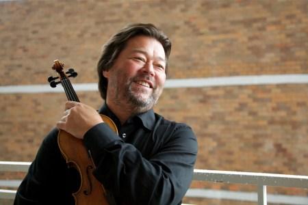 Violinist Joseph Swensen