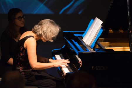 Third Angle's Susan Smith plays contemporary piano music this week. Photo: Jacob Wade.
