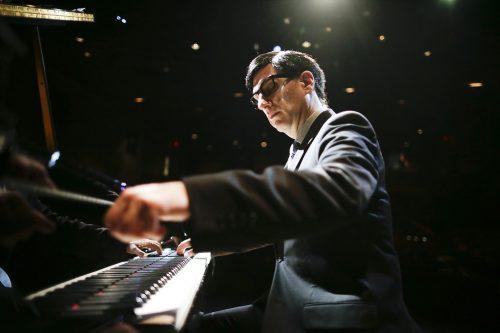 Felder at the keyboard as Berlin. Photo: Eighty Eight Entertainment