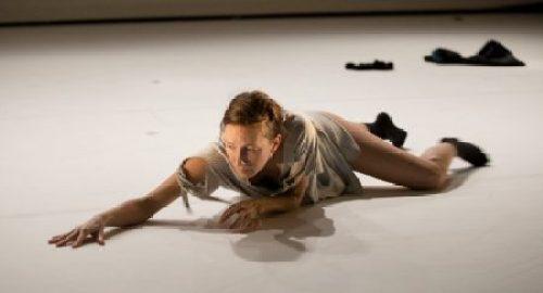 """Katie Scherman in """"Complicated Women,"""" BodyVox Dance Center, March 22, 2018/Photo by Blaine Truitt Covert+Artists"""