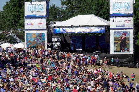 Waterfront Blues Festival, July 7, 2018.