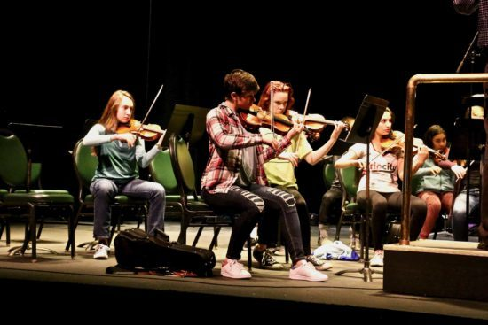 Students from six Oregon high school orchestras will participate in the third annual Oregon Coast Youth Symphony Festival, April 25-28 in Newport.