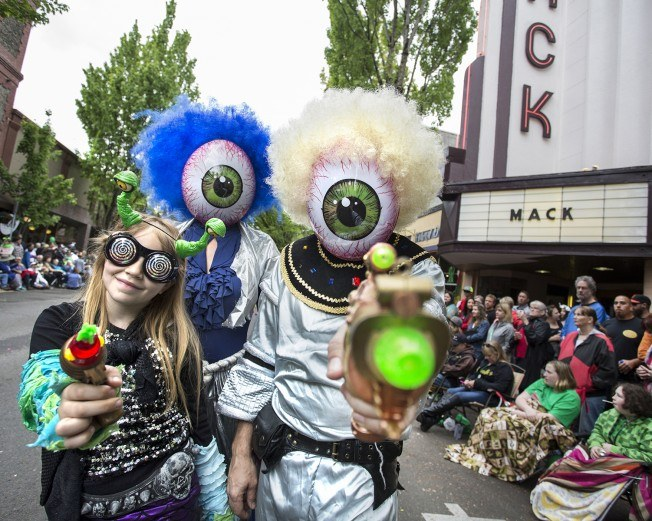 McMinnville gets its weird on Thursday through Saturday for UFO Festival 2019, sponsored by McMenamins Hotel Oregon. Photo by: Kathleen Nyberg, courtesy McMenamins Hotel Oregon
