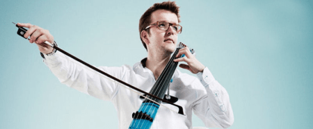 Cellist Peter Gregson.