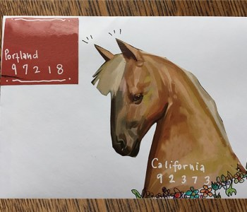 """Among classes at Sitka Center for the Arts is an  August workshop on the """"Art of the Letter. """" Besides creating illustrated envelopes, the class will explore how letter-writing can survive in the digital age."""