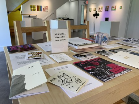"""The 'Zine Show"" at Bush Barn Art Gallery & Annex runs through July 10."