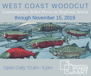 Maryhill Museum West Coast Woodcut exhibit 2019