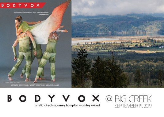 poster for BodyVox at Big Creek