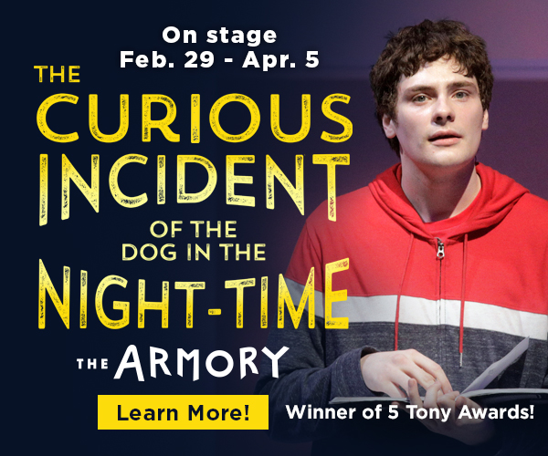 Portland Center Stage the Armory The curious incident of the dog in the night-time