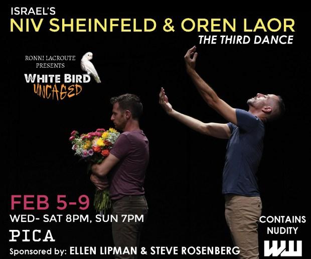 White Bird Niv Sheinfeld and Oren Laor.