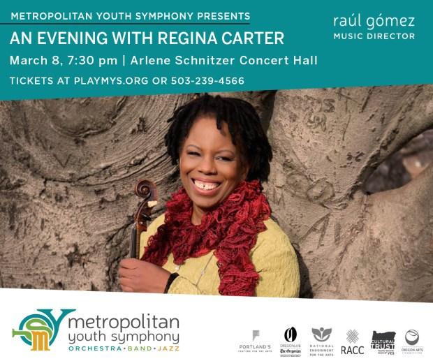 Metropolitan Youth Symphony Regina Carter