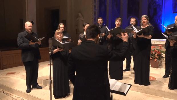 Cappella Romana Tchaikovsky livestream March 2020.