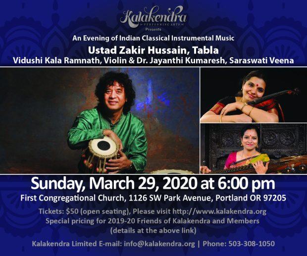 Kalakendra Ustad Zakir Hussain