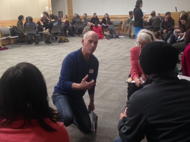Paul Bodin teaching at UO in 2017.