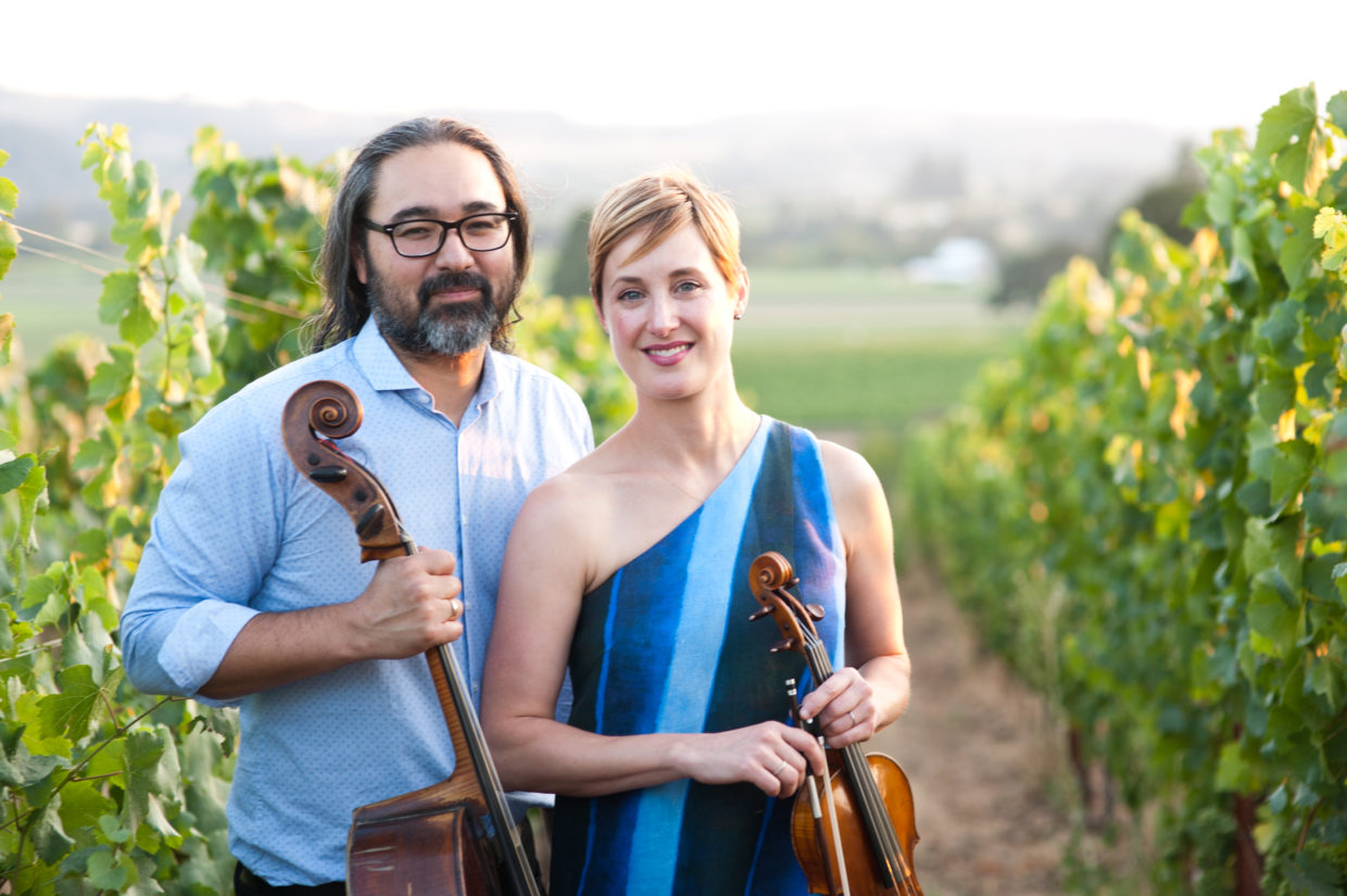 Chamber music and a virtual toast