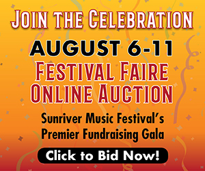 Sunriver Music Festival faire virtual gala online auction