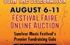 Sunriver Music Festival faire virtual gala online auction