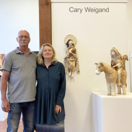 Jane and Mike Brumfield closed thier gallery in Cannon Beach to concentrate on their gallery in their home town of Astoria