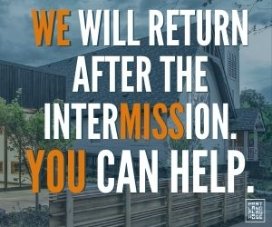 Portland Playhouse intermission donate you can help