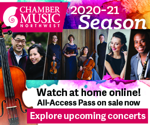 Chamber Music Northwest 2020-2021 season