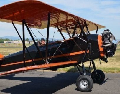 A ride in a 1929 Travel Air biplane is among the auction items in the Lincoln City Cultural Center's Culture! Of Course fundraiser.