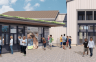The Oregon Coast Aquarium plans to build a new ticketing kiosk and remodel the entryway, among other changes