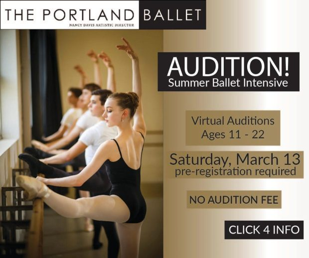 the portland ballet audition