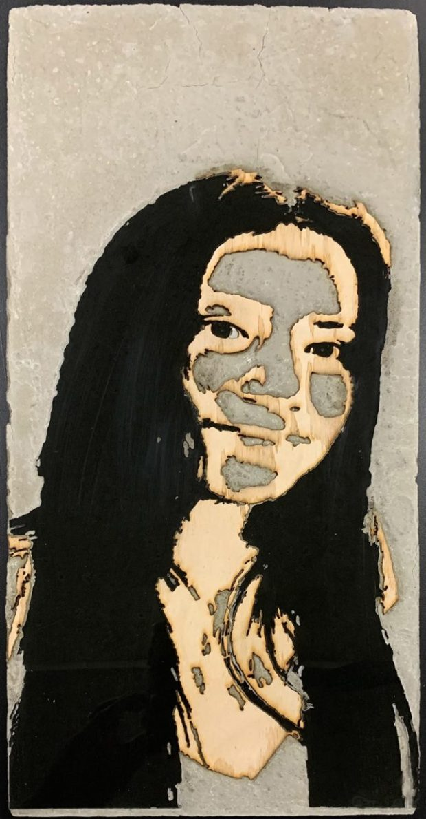 Yuritzi Cuellar-Pacheco, Taft High School senior, self-portrait