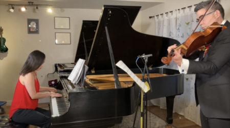 Kenji Bunch and Monica Ohuchi perform Adolphus Hailstork's 'Sanctum Rhapsody.'