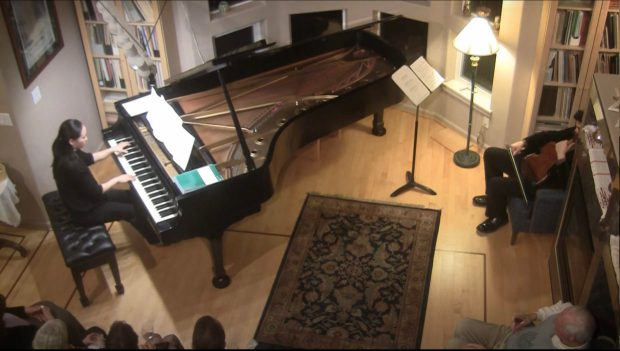 """Monica Ohuchi performs """"Etude 4"""" from Bunch's 'Monica's Notebook.'"""