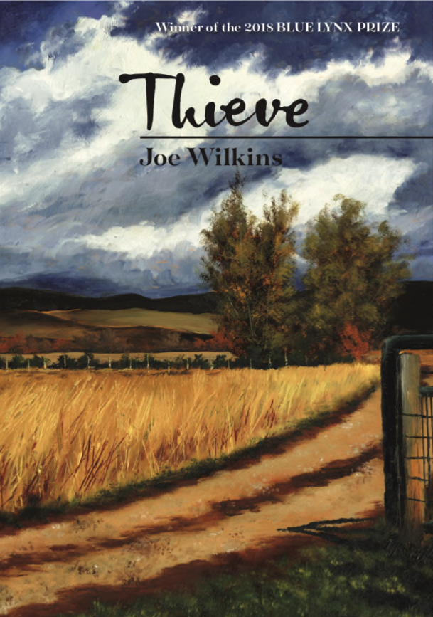 """Joe Wilkins, poet and Linfield University professor, has been nominated for an Oregon Book Award for """"Thieve."""""""