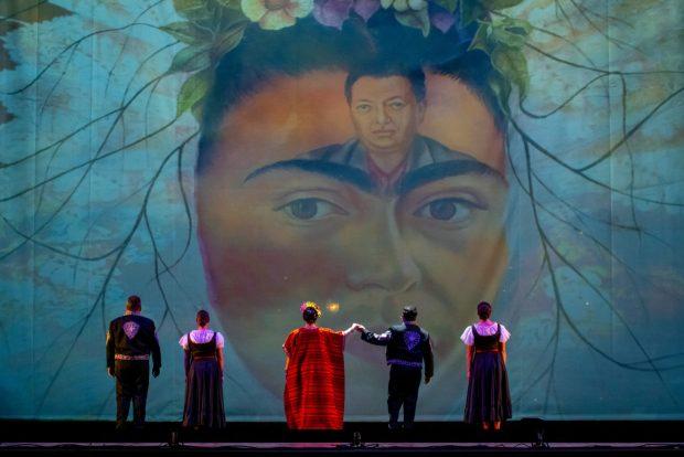 Portland Opera's 2021 production of Frida. Photo by Trace Downen.