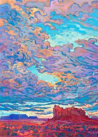 """""""Desert Clouds"""" by Erin Hanson"""