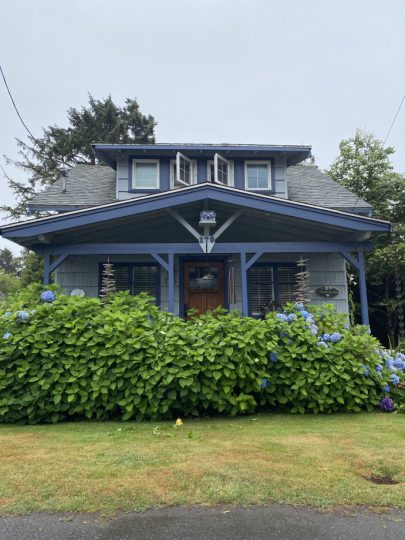 A Sears kit house, built around 1925, is featured on this year's Cannon Beach Cottage Tour. Sears, Roebuck and Co. sold more 70,000 kit houses through catalogs between 1908 and 1940. Photo courtesy: Cannon Beach History Center and Museum