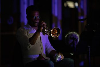 Darrell Grant's 'Sanctuaries' with Third Angle New Music. Photo by Intisar Abioto.