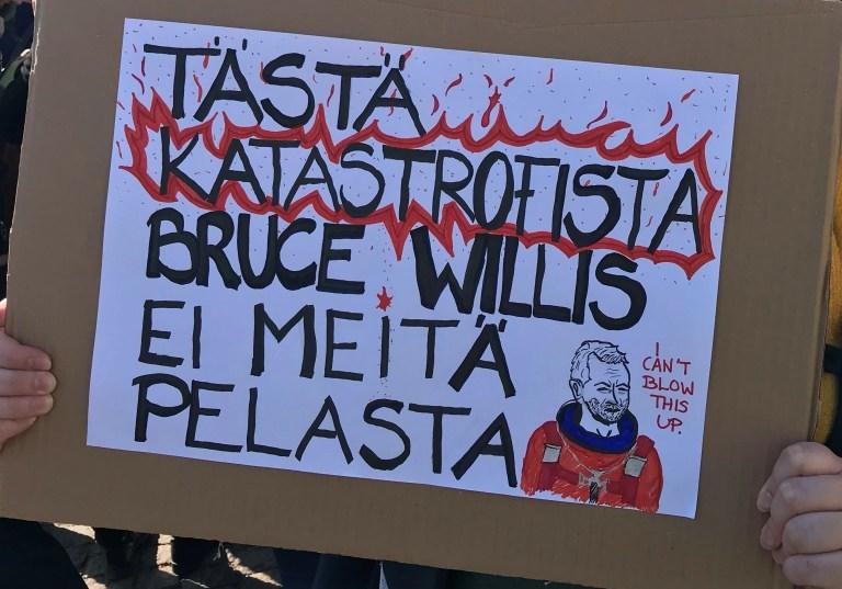 tästä katastrofista Bruce Willis ei meitä pelasta